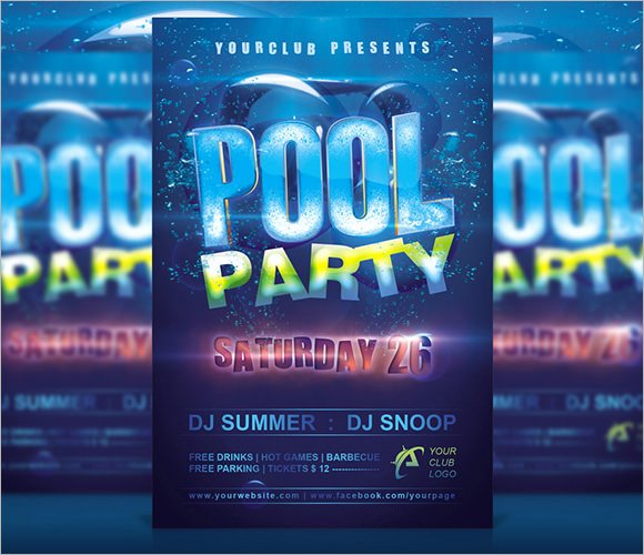 8 Sample Best Pool Party Invitations to Download