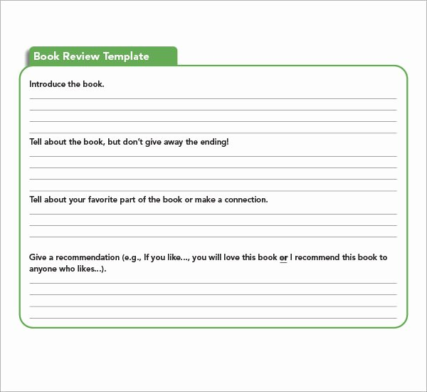 8 Sample Book Report Templates