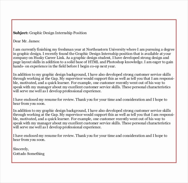 8 Sample Graphic Design Cover Letters
