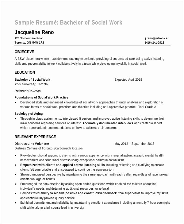 8 Sample Objectives for Resume