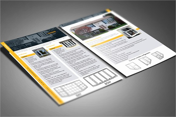 8 Sample Sell Sheet Templates to Download