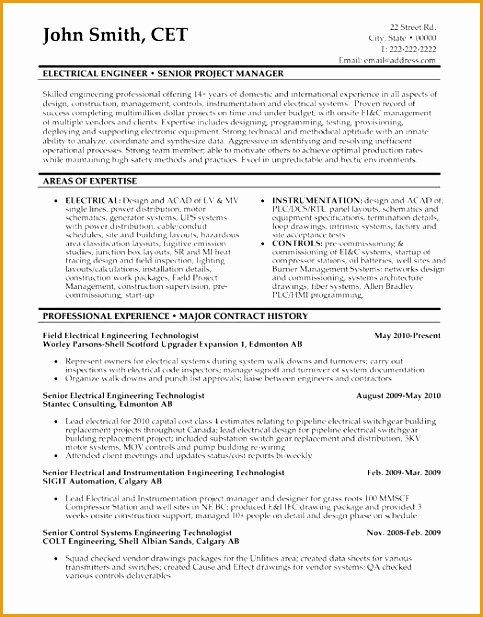 8 Senior Executive Manufacturing Engineering Resume Free