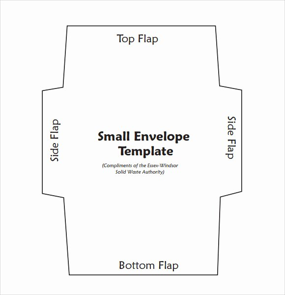 8 Small Envelope Templates to Download for Free