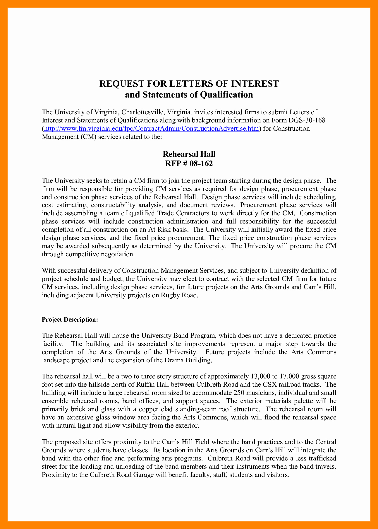 4 Statement Of Qualifications Example Letter Latter Template