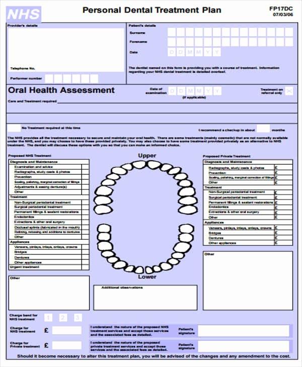 8 Treatment Plan Samples & Templates