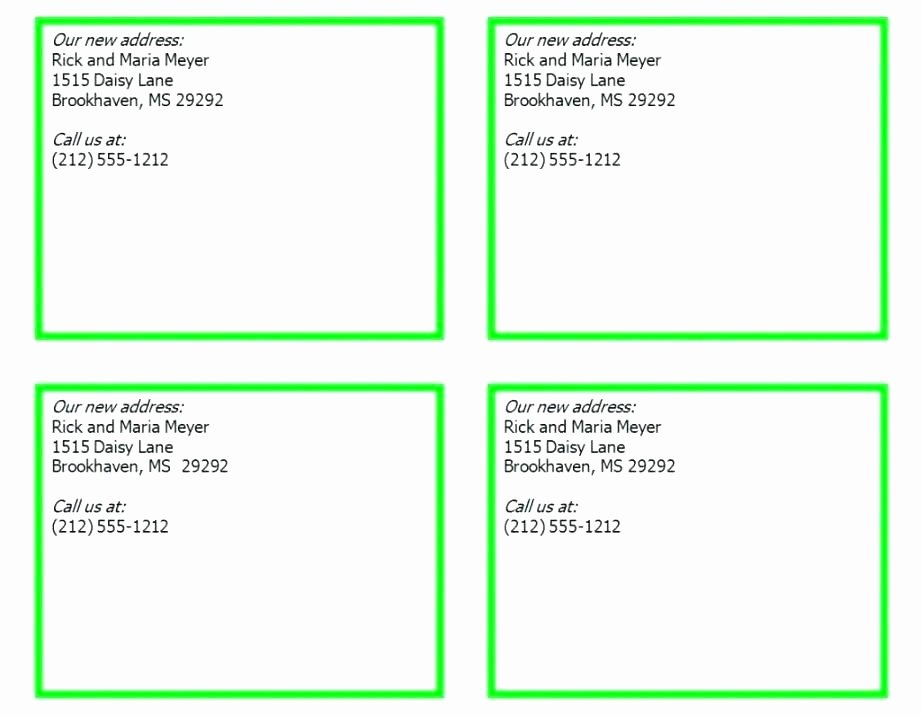 8 Up Business Card Template Blank Avery 8395