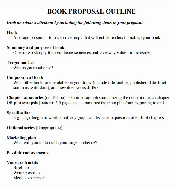 8 Useful Book Outline Templates to Download