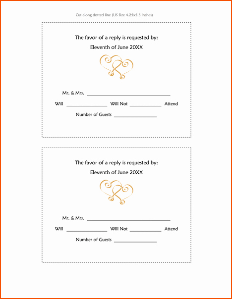 8 Wedding Invitation Template Word Bookletemplate