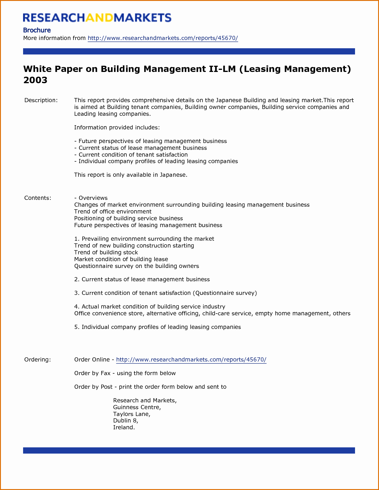 8 White Paper Templates