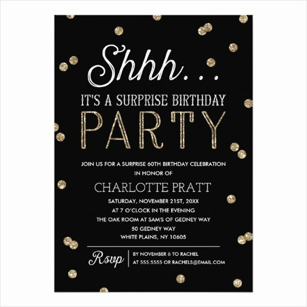 81 Birthday Invitations