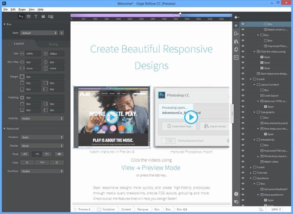 82 Expression Web Responsive Templates Responsive