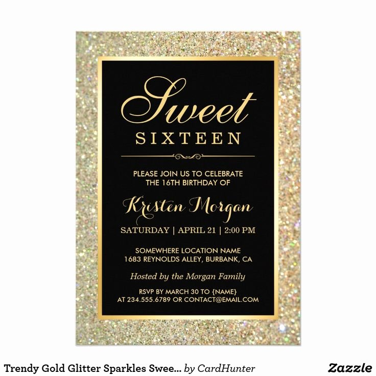 881 Best Sweet Sixteen Invitations Images On Pinterest