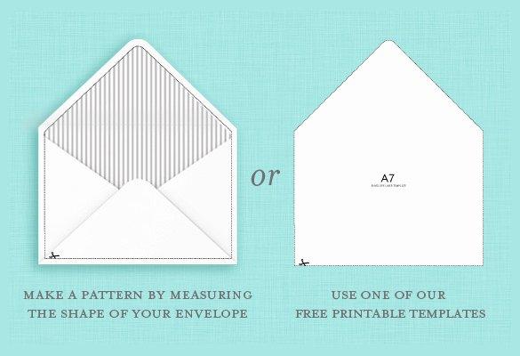 9 A7 Envelope Templates Doc Psd Pdf