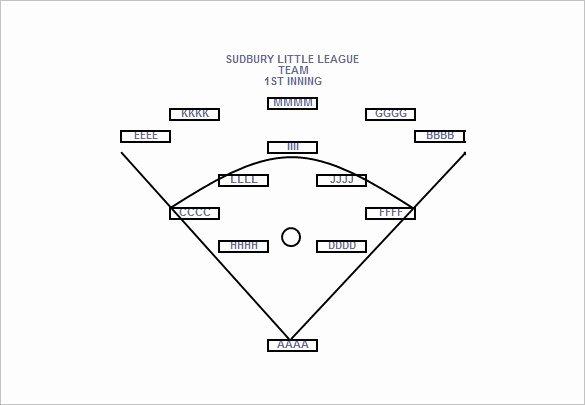 9 Baseball Line Up Card Templates Doc Pdf Psd Eps