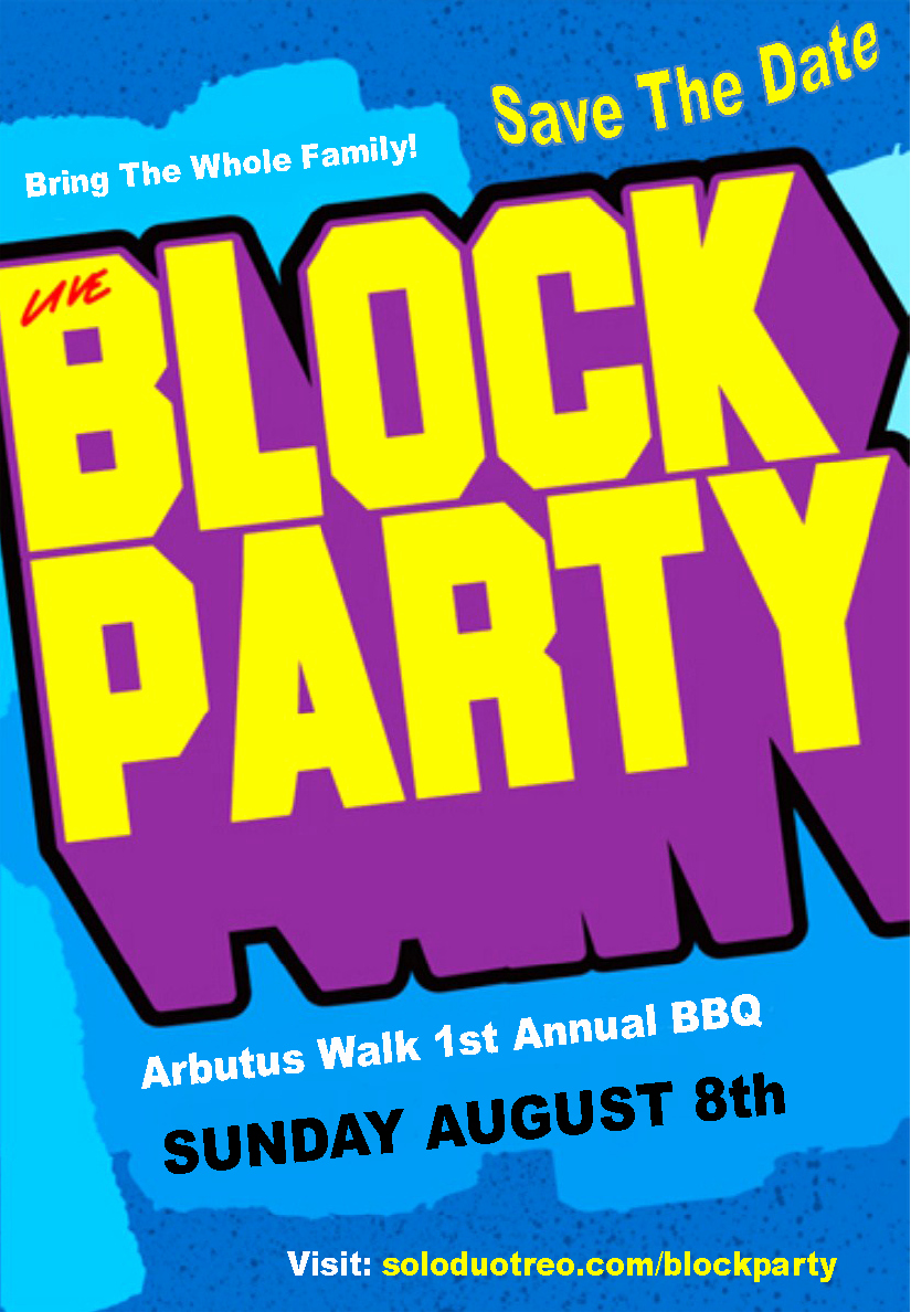 9 Best Of Block Party Flyer Template Neighborhood