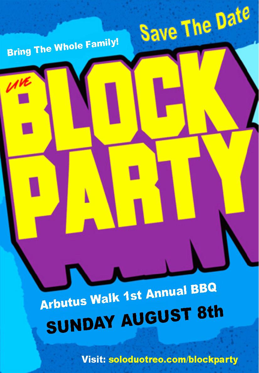 9 Best Of Block Party Flyer Template Neighborhood