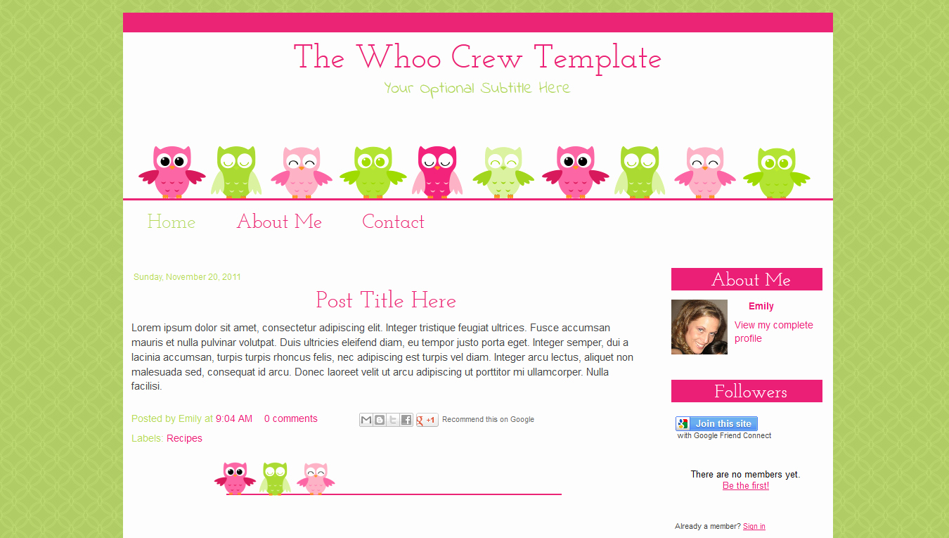 9 Best Of Blogger Templates Blog Free Blog