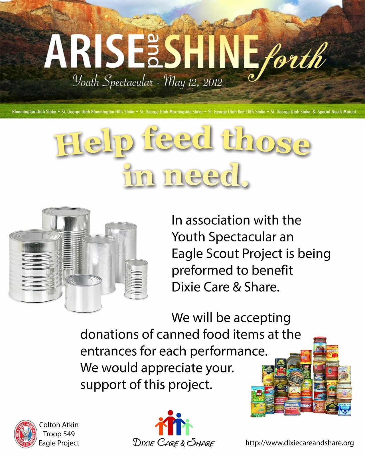 9 Best Of Canned Food Drive Flyer Food Drive