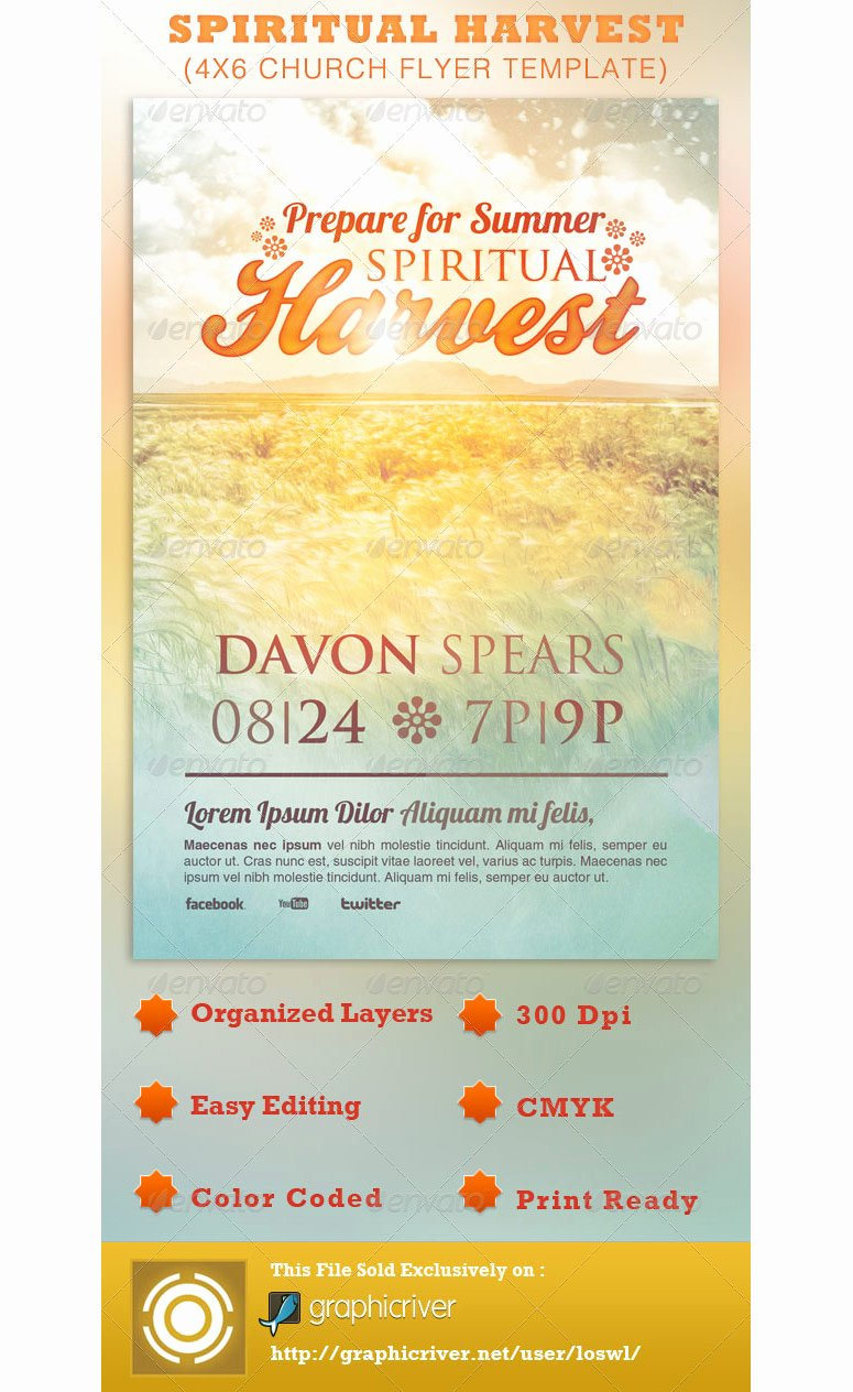 9 Best Of Church Flyer Background Designs Free