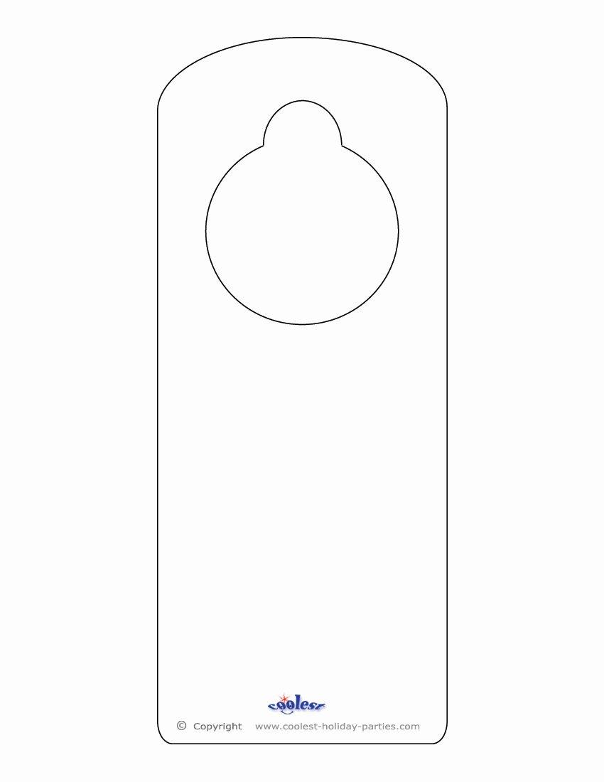 9 Best Of Door Hanger Template Door Hanger