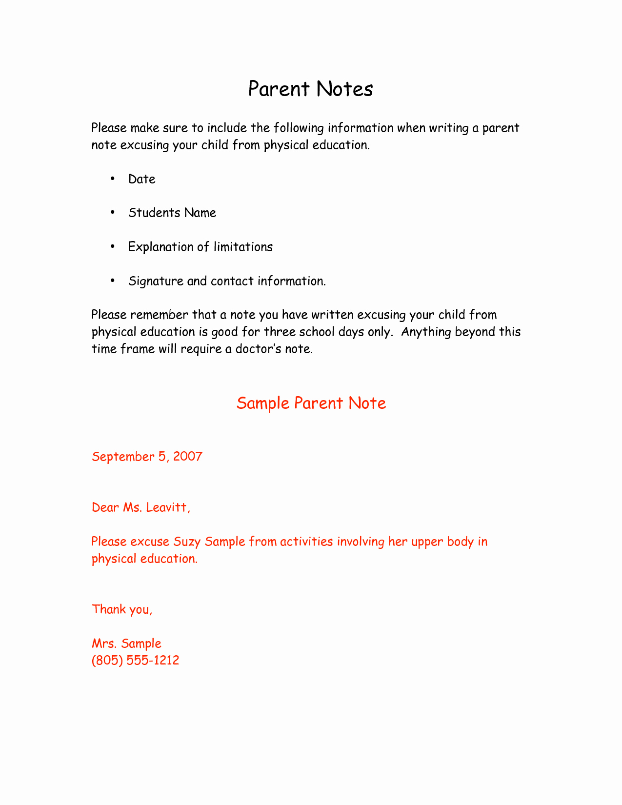 9 Best Of for School Doctors Note Template Free
