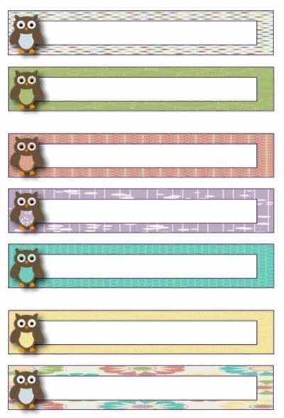 9 Best Of Free Printable File Labels Free