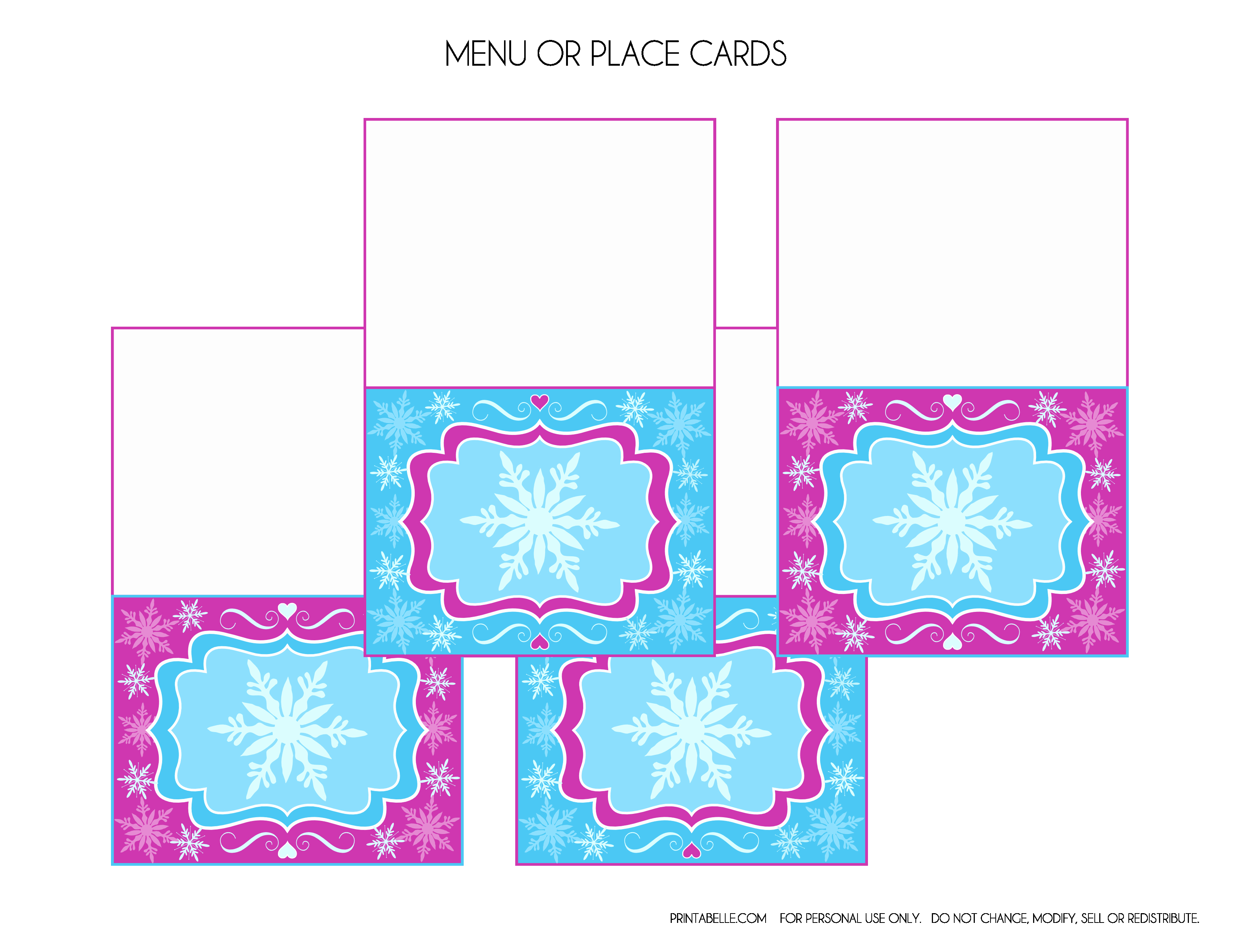 9 Best Of Frozen Birthday Card Printable Template
