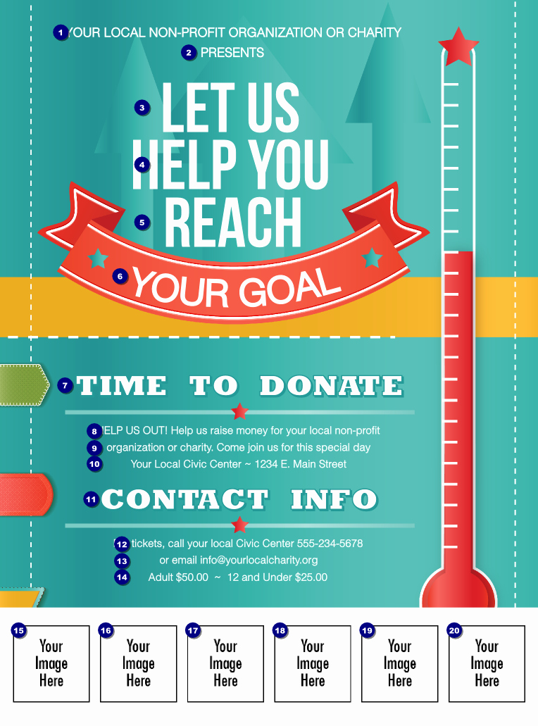 9 Best Of Fundraiser Flyer Templates Free