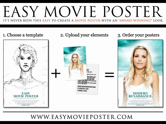 post movie poster template