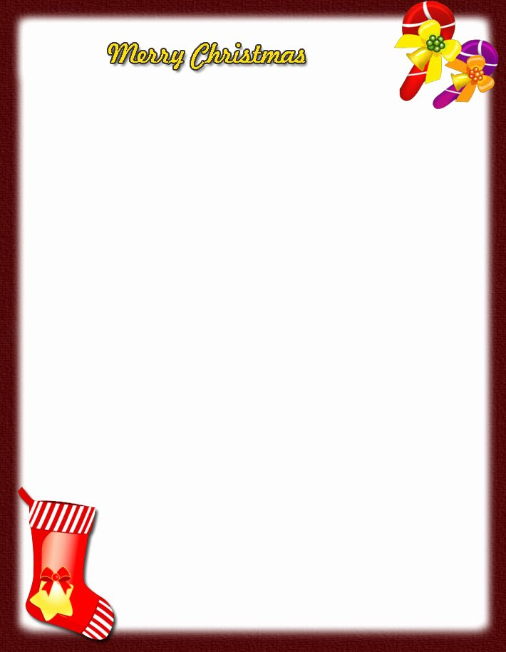9 Best Of Printable Christmas Letter Head Free