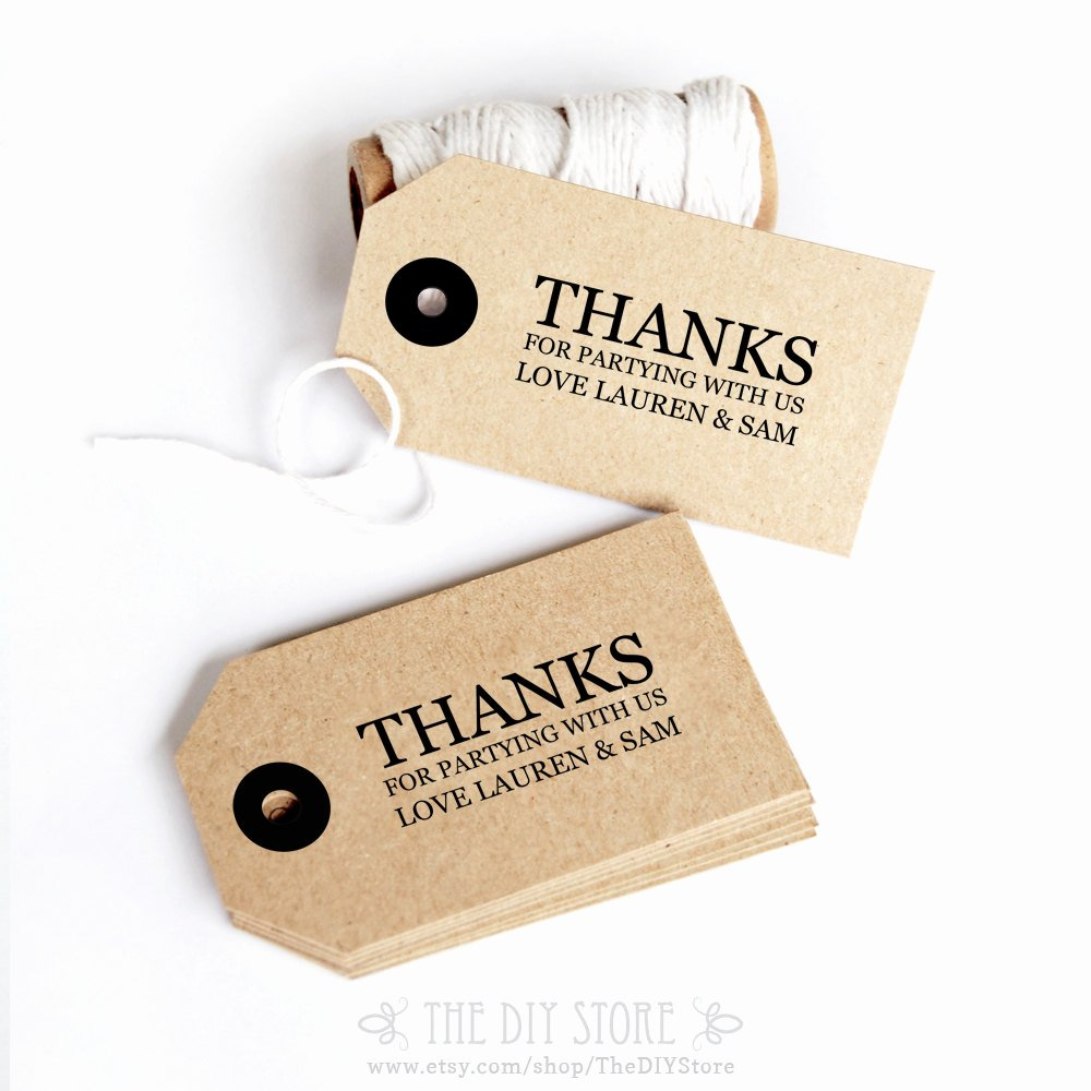 9 Best Of Printable Wedding Tags Template Free