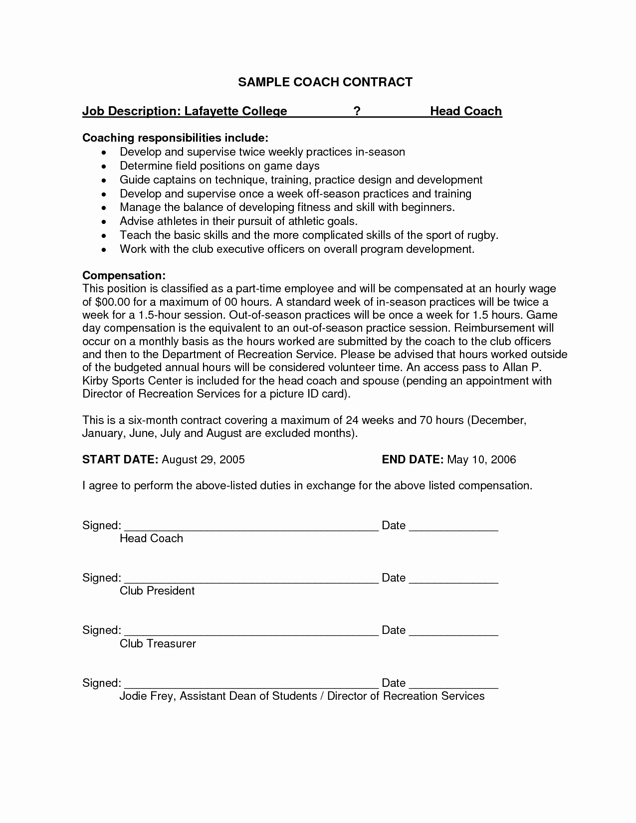 9 Best Of Simple Service Agreement Template