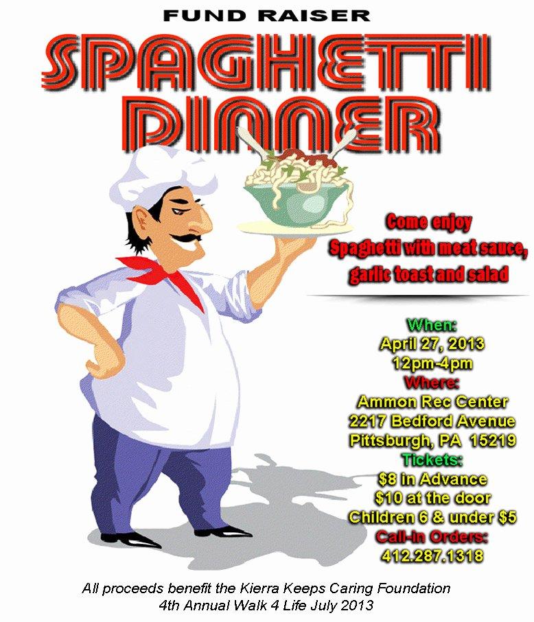 9 Best Of Spaghetti Dinner Flyer Clip Art