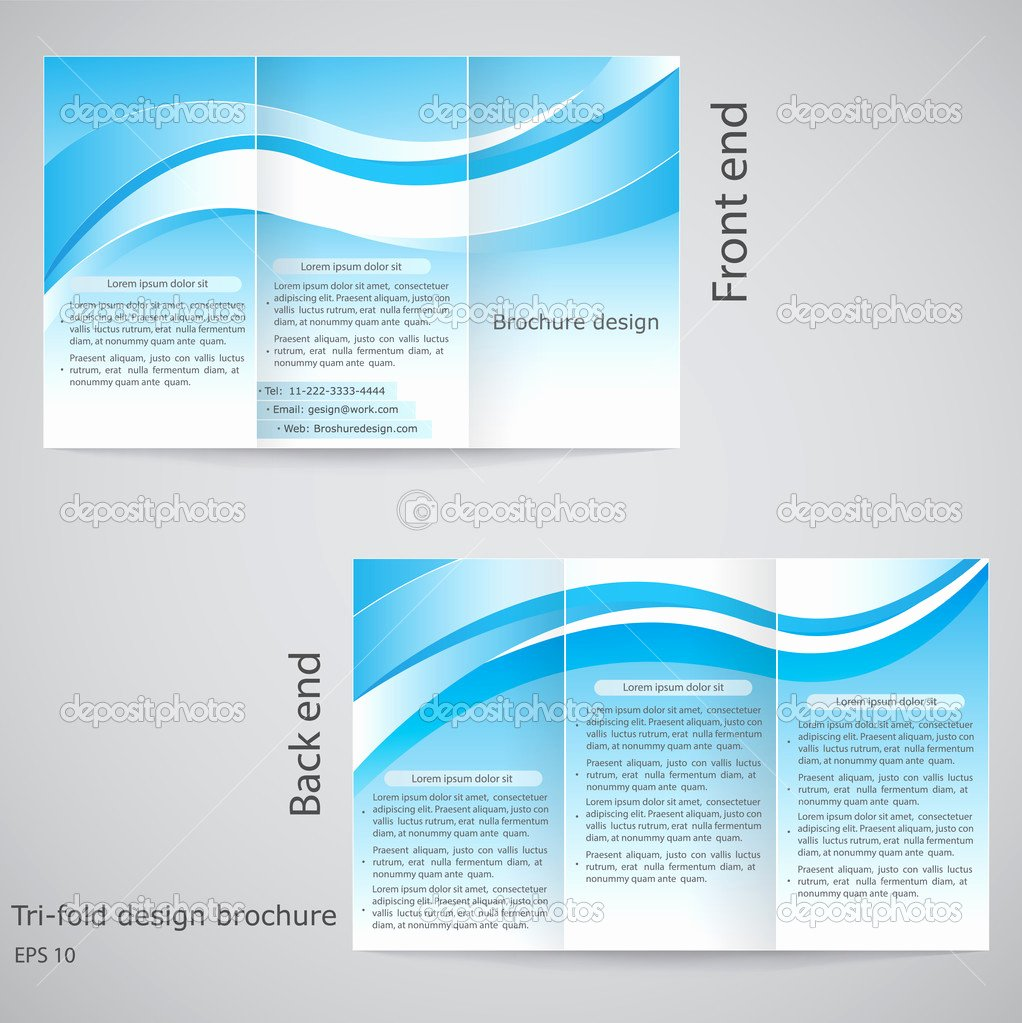 9 Best Of Tri Fold Brochure Design Template Free