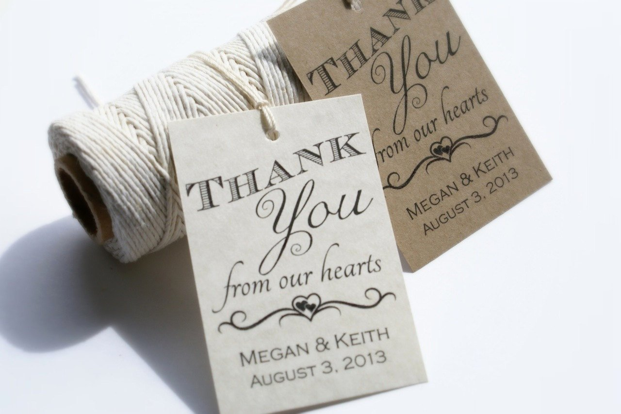 9 Best Of Wedding Favor Tags Printable Template