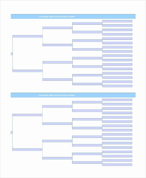 9 Blank Family Tree Templates