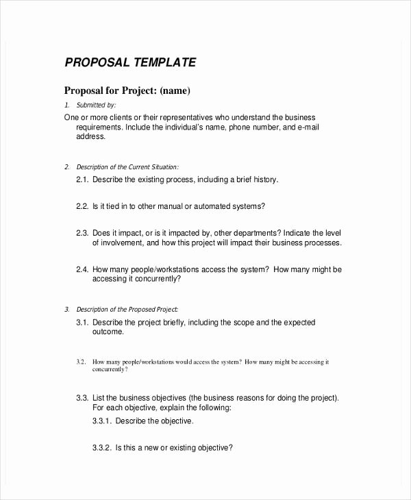 9 Business Proposal Templates In Word