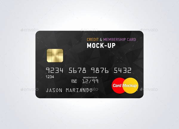 9 Credit Card Mockups Editable Psd Ai Vector Eps