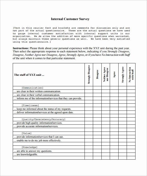 9 Customer Satisfaction Survey Template