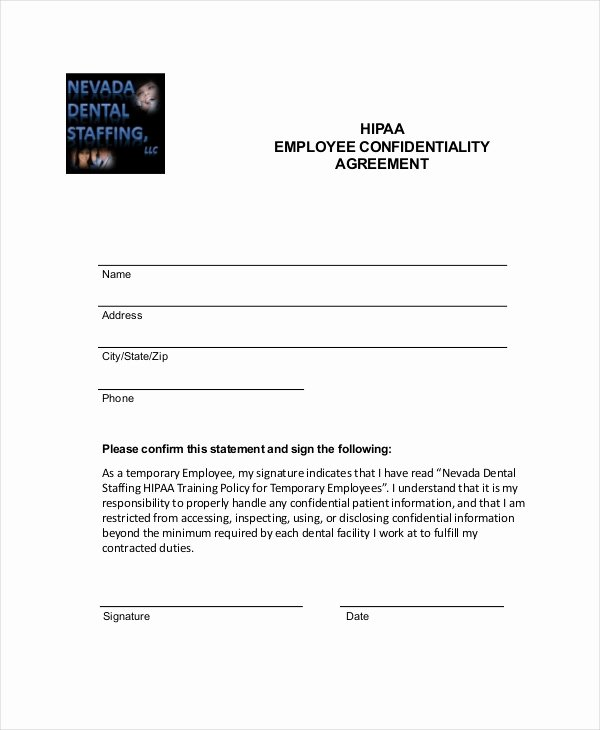 9 Employee Confidentiality Agreement Templates & Samples