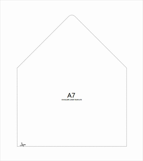 9 Envelope Liner Templates – Samples Examples & formats