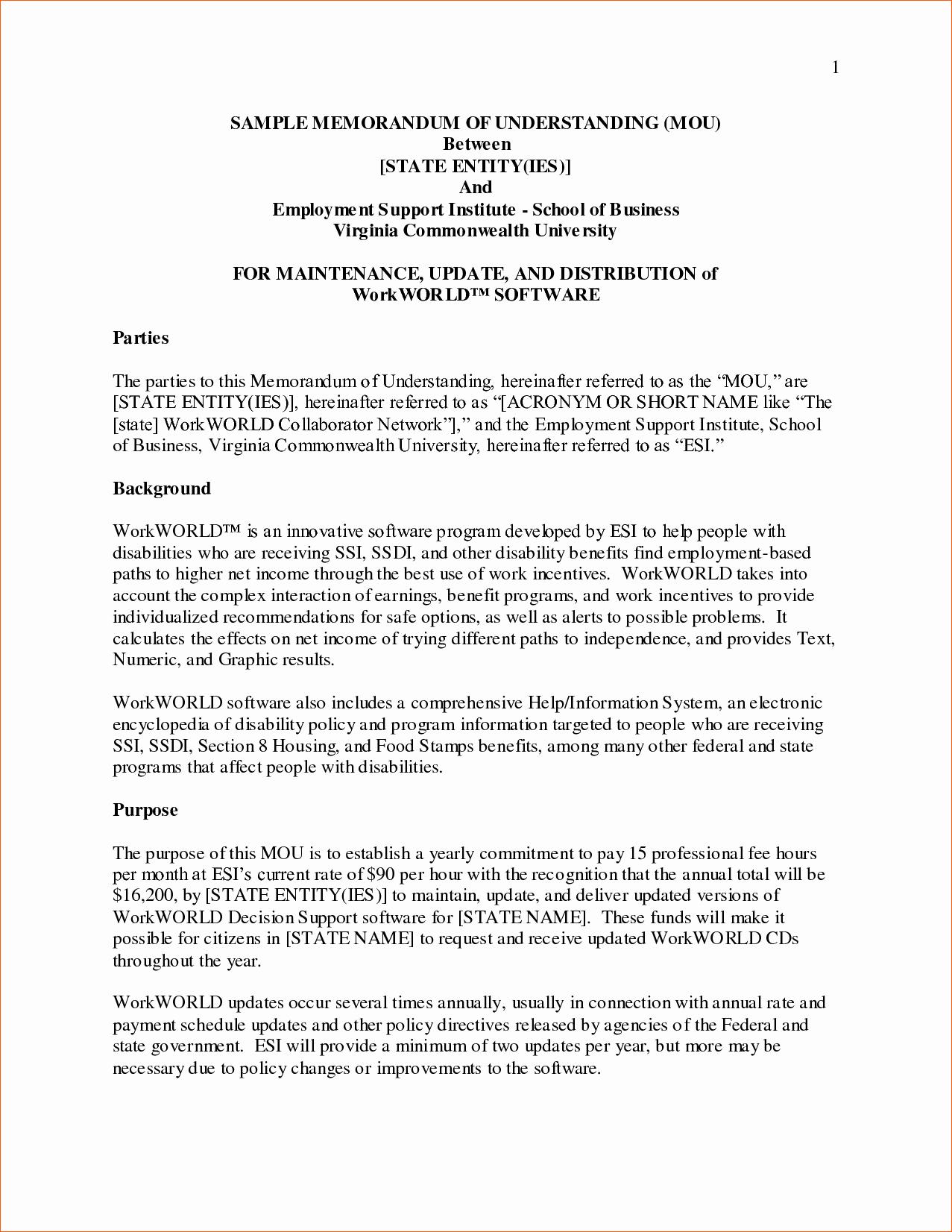 9 Examples Of Memorandum