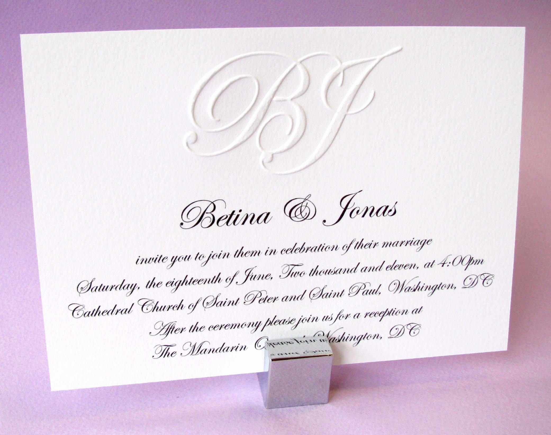 9 Fine formal Invitation Wording Wedding Ebookzdb