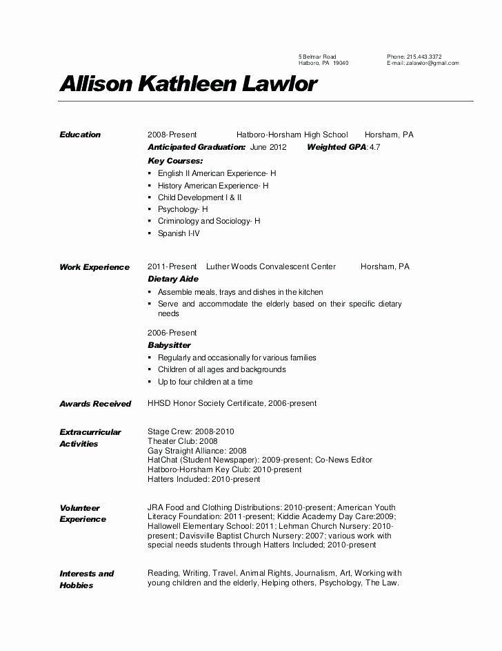 9 Fresh Dishwasher Job Description for Resume