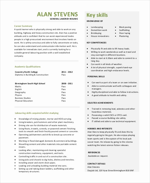 9 General Resume Objective Samples