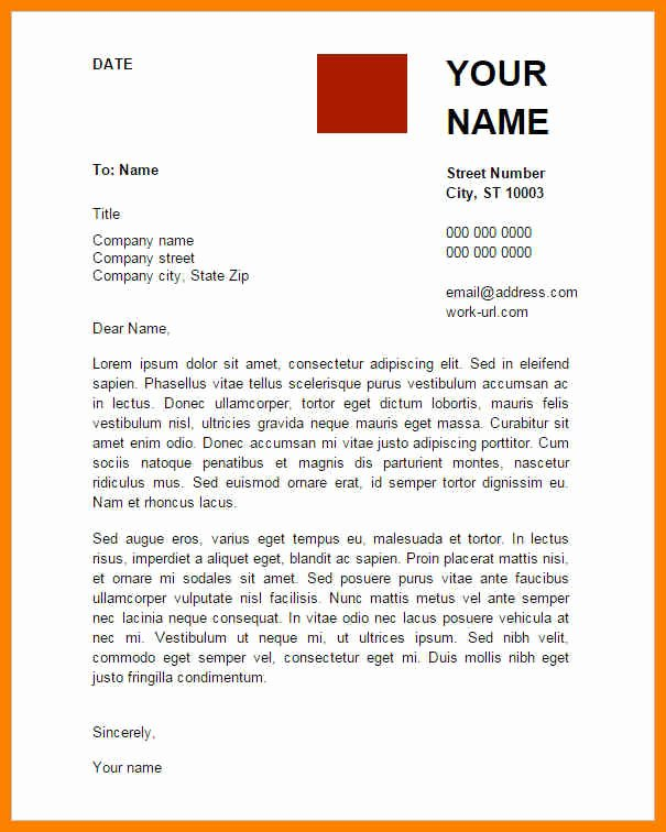 9 Google Doc Letterhead