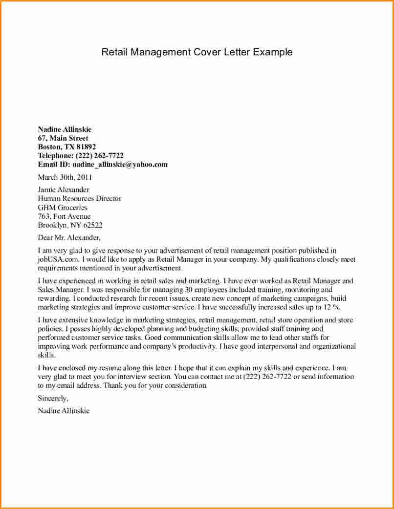 9 Help with Cover Letter Management