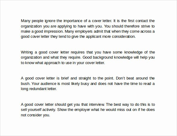 9 How to Write A Cover Letters – Samples Examples