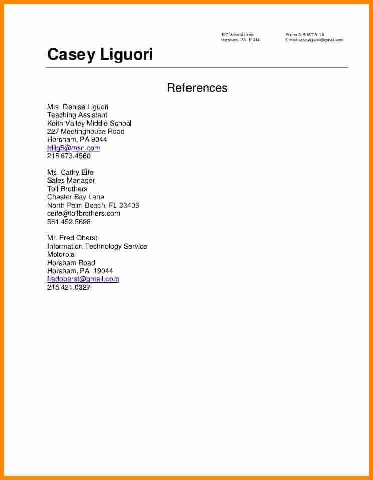 9 How to Write References In Resume