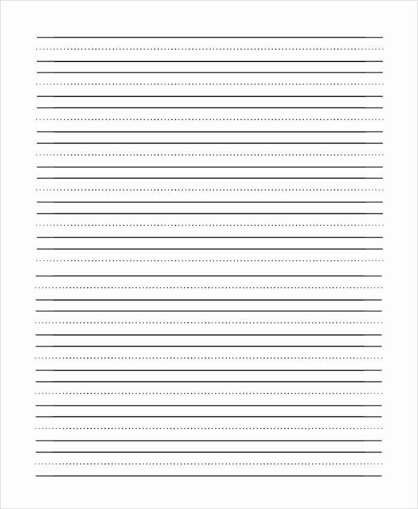 9 Lined Paper Pdf Samples